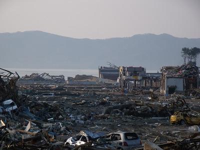 東日本大震災写真