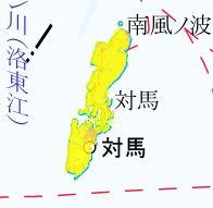 地震動予測地図 対馬