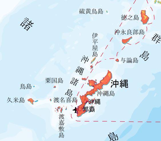 地震動予測地図 沖縄エリア