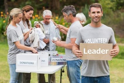 ボランティアのリーダーTOP写真