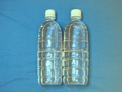 ペットボトル水2本