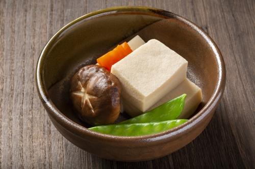 高野豆腐通常の料理例