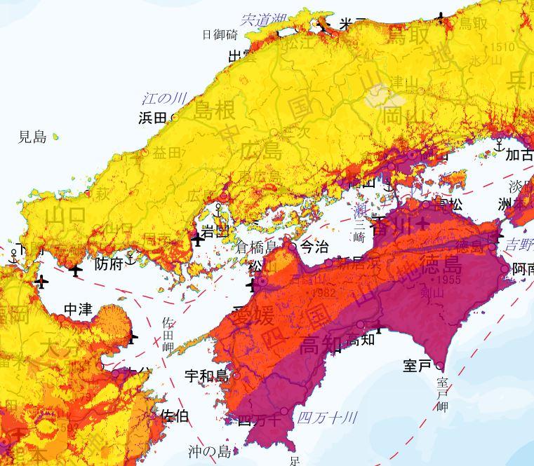 中部・四国2020